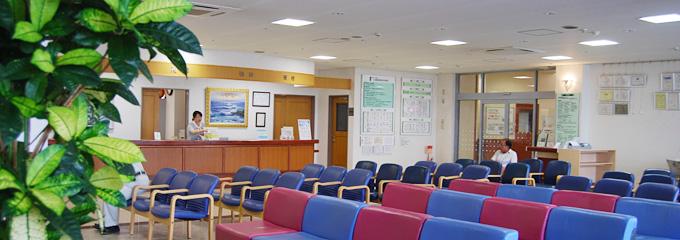 写真:一之瀬脳神経外科病院受け付け・待合室